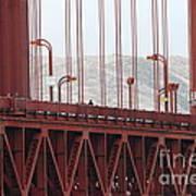The San Francisco Golden Gate Bridge - 7d19060 Art Print