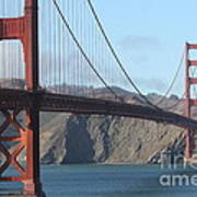 The San Francisco Golden Gate Bridge - 7d19184 Art Print