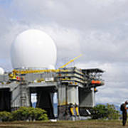 The Sea Based X-band Radar, Ford Art Print