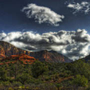 The Serenity Of Sedona  Art Print