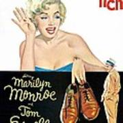 The Seven Year Itch, Marilyn Monroe Art Print by Everett