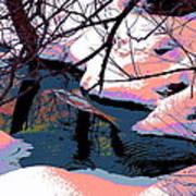 The Shades Of Winter Art Print