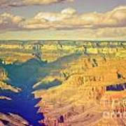 The Shadows In The Canyon Art Print
