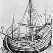 The Ship, C1470 Art Print