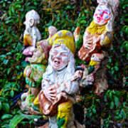 The Singing Gnomes Art Print