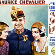 The Smiling Lieutenant, From Left Art Print by Everett
