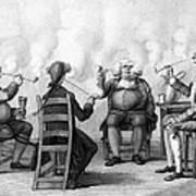 The Smoking Club Art Print