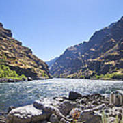 The Snake River In Hells Canyon Art Print