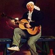 The Spanish Singer Art Print
