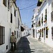 The Spanish Village Mijas Art Print