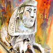 The Sphinx Of Petraion Art Print