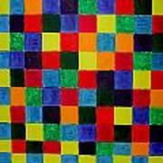The Square Mandala Art Print