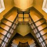 The Staircase Reflection Art Print