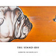 The Stand Off Art Print