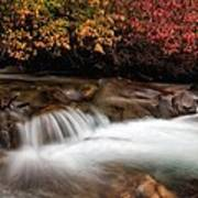 The Steady River Flow Art Print