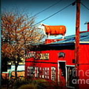 The Steakhouse On Route 66 Art Print