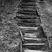 The Stone Staircase  Art Print
