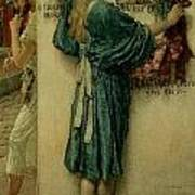The Street Altar Art Print by Sir Lawrence Alma-Tadema