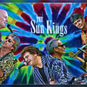The Sun Kings Art Print