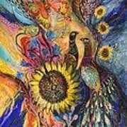 The Sunflower ... Visit Www.elenakotliarker.com To Purchase The Original Art Print