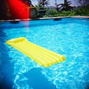The Swimming Pool Art Print