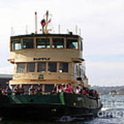 The Sydney Harbour Ferry Supply Art Print by Joanne Kocwin