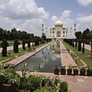 The Taj Mahal In Agra, India Art Print