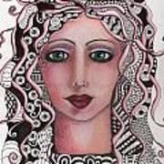 The Tangled Woman Art Print