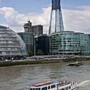 The Thames London Art Print
