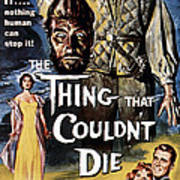 The Thing That Couldnt Die, 1958 Art Print by Everett