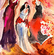 The Three Muses From Paphos Art Print