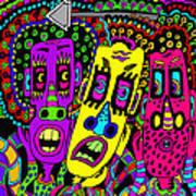 The Three Of Us Art Print