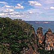 The Three Sisters - The Blue Mountains Art Print