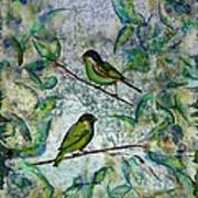 The Time Of Singing Birds Art Print