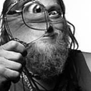 The Token Hippie Art Print