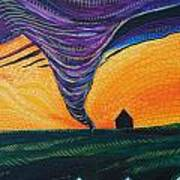 The Tornado Art Print