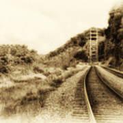 The Tracks Of My Tears Art Print