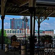 The Trainstation In Nashville Art Print