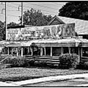 The Trolley Car Diner - Chestnut Hill Philadelphia Art Print