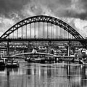 The Tyne Bridges Art Print