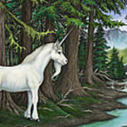 The Unicorn Myth Art Print