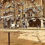 The Vaudeville Theatre In Shamokin Pa Around 1910 Art Print