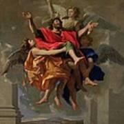 The Vision Of St. Paul Art Print
