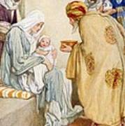 The Visit Of The Wise Men Art Print