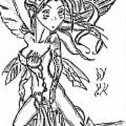 The Voluptuous Fairy  Art Print