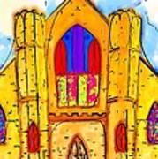 The Wedding Chapel Art Print