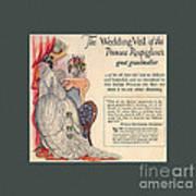 The Wedding Veil Of The Princess Rospigliosi's Great Grandmother Art Print