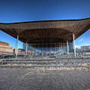 The Welsh Assembly Building 2 Art Print