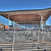 The Welsh Assembly Building Art Print