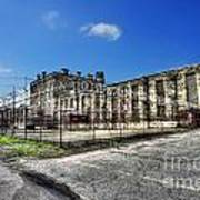 The West Virginia State Penitentiary Courtyard Outside Art Print